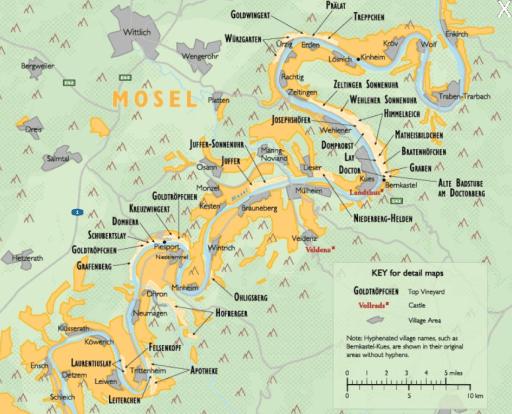 mosel wine map