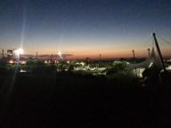 muc: Olympiapark bei Nacht