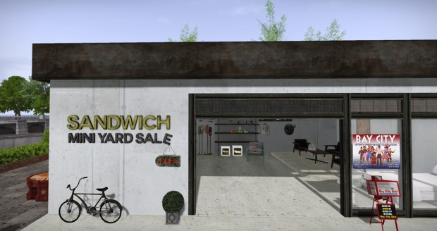 Sandwich Mini Yard Sale