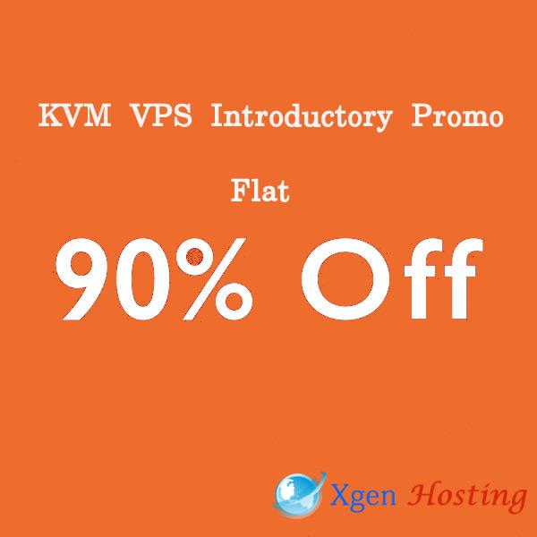 90% OFF KVM VPS
