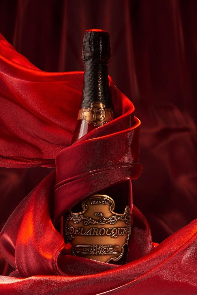 Champagne Delarocque Rosé
