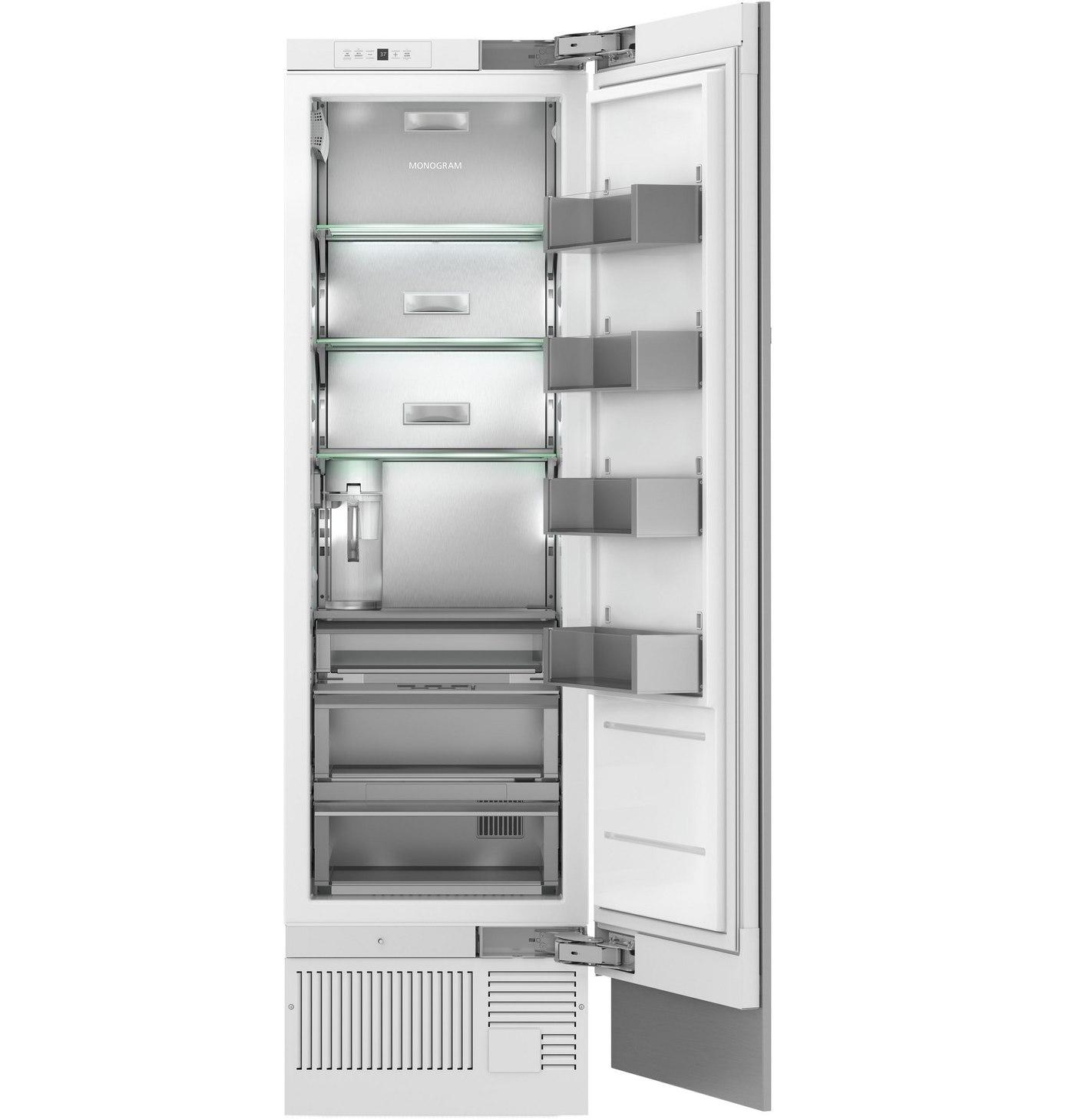 thermador vs ge monogram integrated refrigerators reviews ratings prices