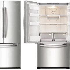 Kitchen Refrigerator Remodel Cost The 7 Best Counter Depth Refrigerators For 2019 Reviews Ratings Samsung Rf18hfenbsr 1 249