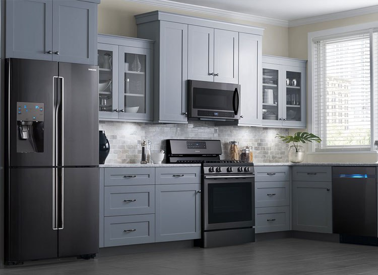 kitchen appliance packages stainless steel triangle table best black from lg samsung and kitchenaid reviews ratings prices