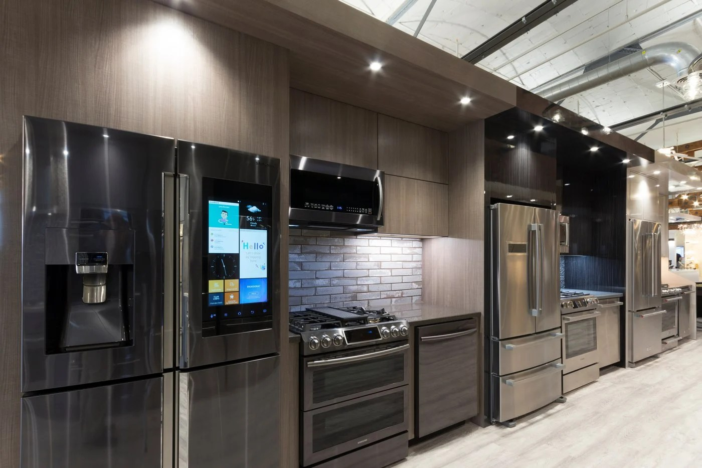 kitchen appliance suite hanging light best stainless steel packages reviews ratings yaleappliance dorchester 20 2