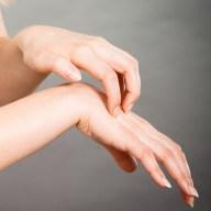 Women Itching Her Hands