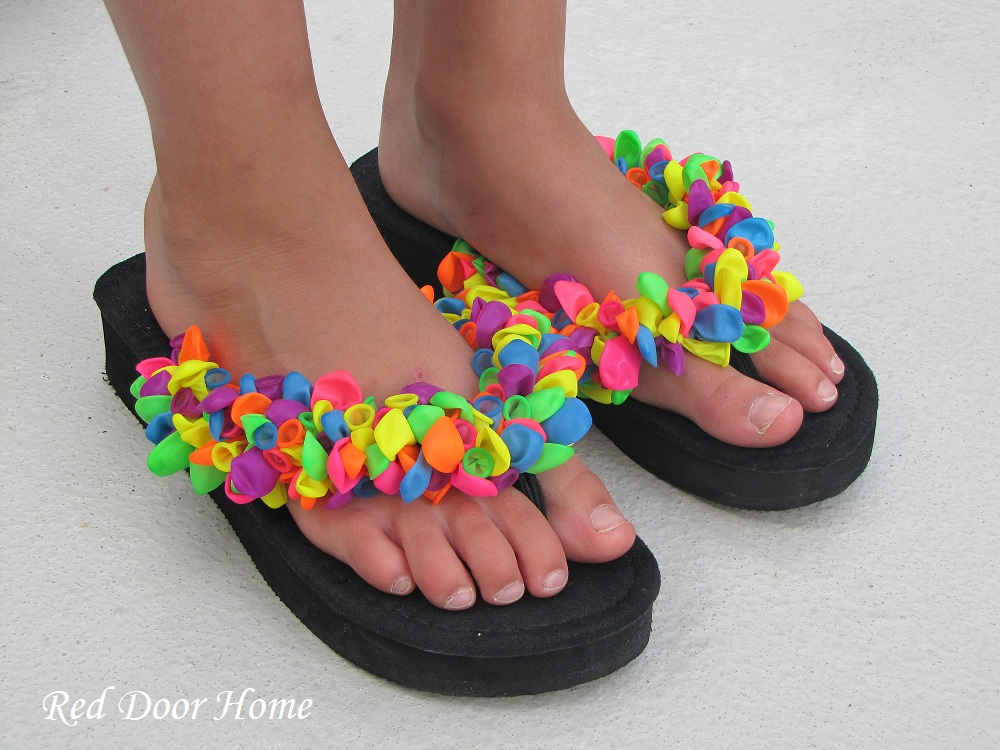 Craft Kit For Kids To Decorate Slippers