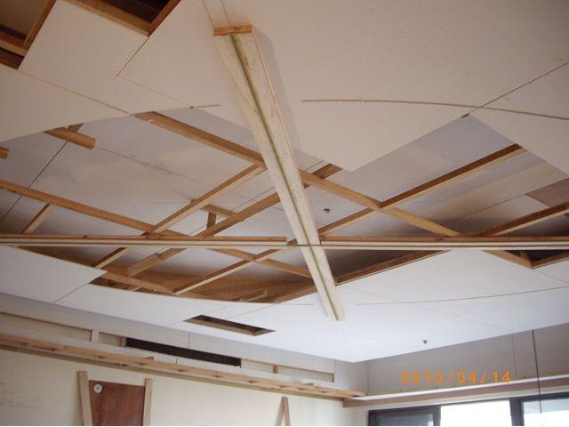 橢圓形天花板