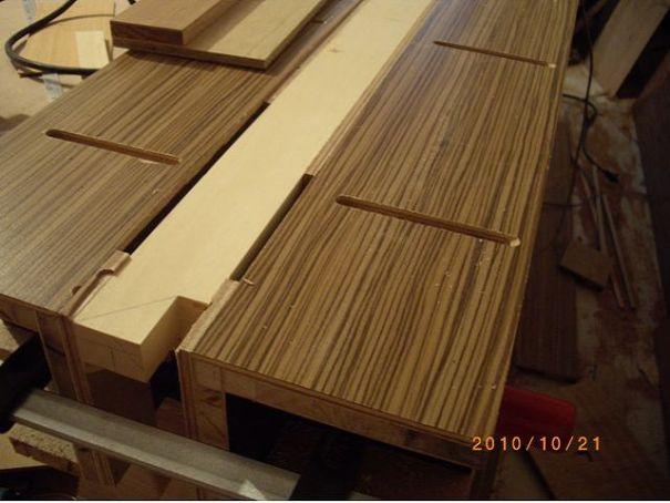 木工裝潢-美檜實木電視櫃
