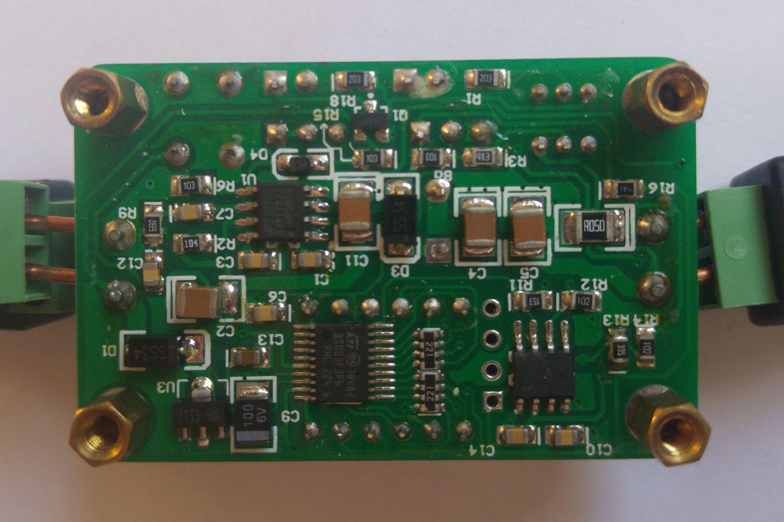 hight resolution of  ammeter converter back