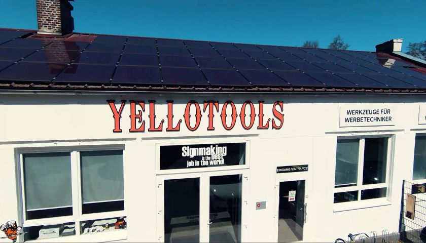 Yellotools company building