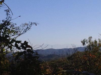 法師山の頂上から141030 102627