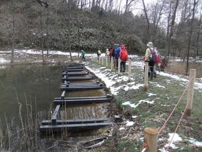 トンボサンクチャリー池修理