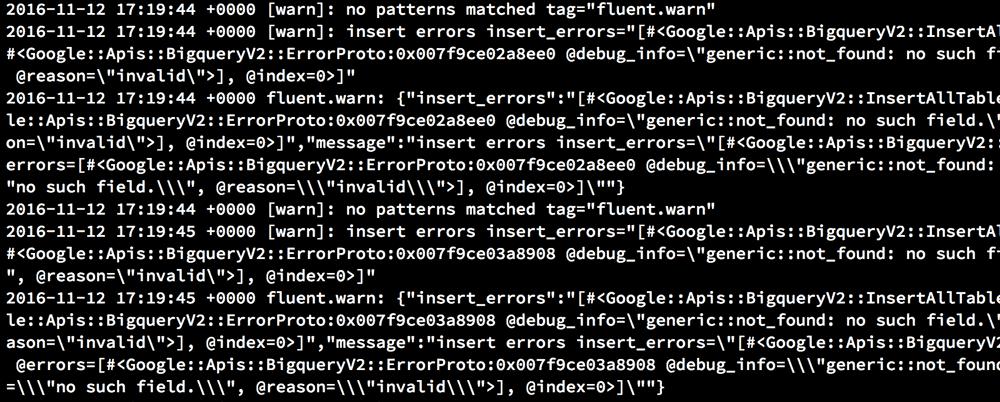 fluent-plugin-bigquery v0.3.x で遭遇したエラーについて