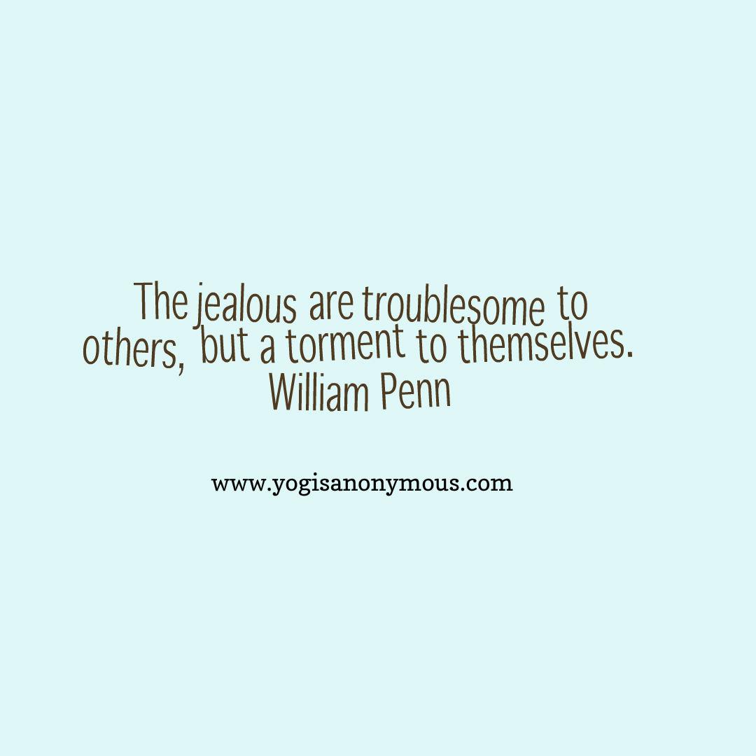 How to help jealousy
