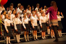 Gr. 7 Choir performs for grandparents