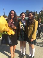 With Special Achiever Dr. Thea Cacchioni '94 and Vice-Head Girl Kira