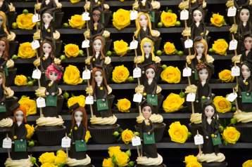 Amazing cupcakes made by parent Cindy Delgado.