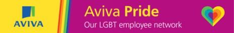 Aviva Pride Logo