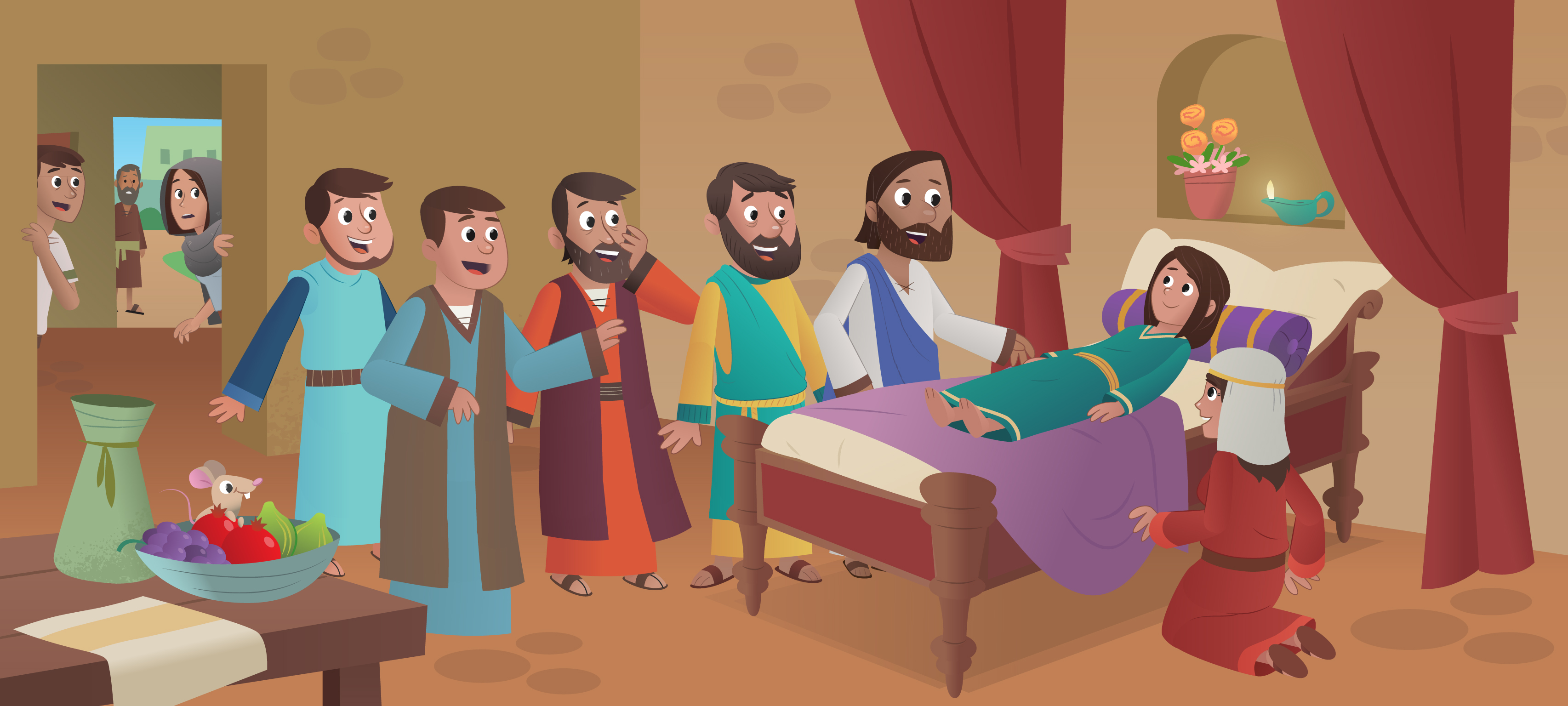 Nueva Historia De La Biblia App Para Ninos Jesus Sana La