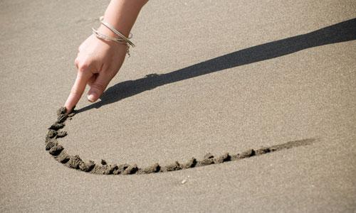 finger-sand