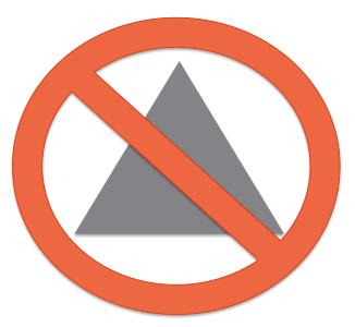 no triangles