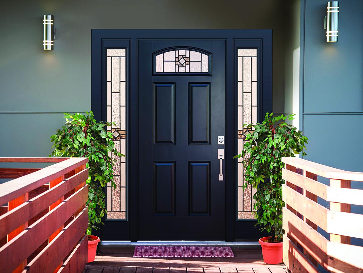 New Decorative Door Glass Designs For Your Entryway Zabitat