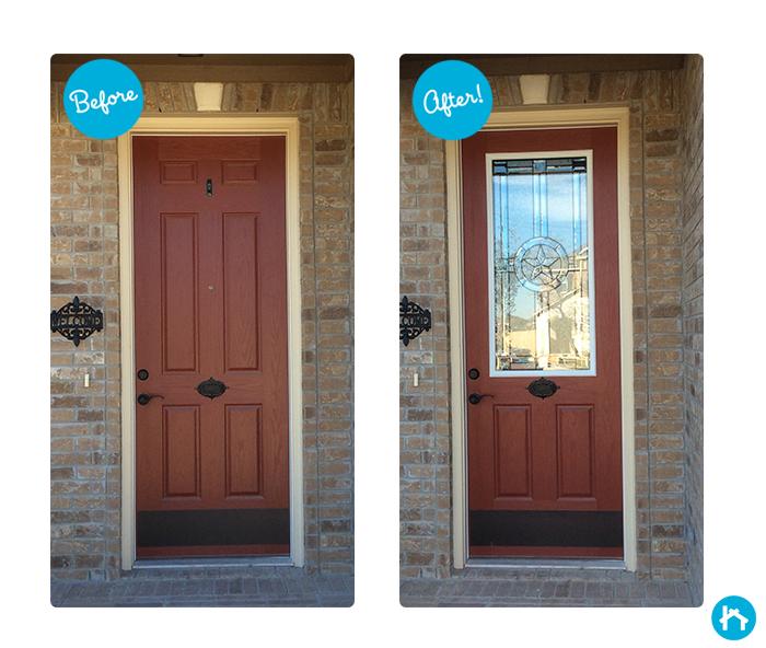 24 x 50 door glass inserts for