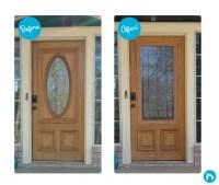 """24"""" x 50"""" Door Glass Inserts for Exterior Doors"""