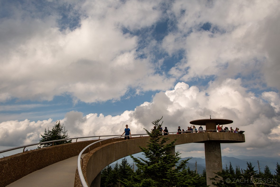 Great Smoky Mountains National Park Clingmans Dome