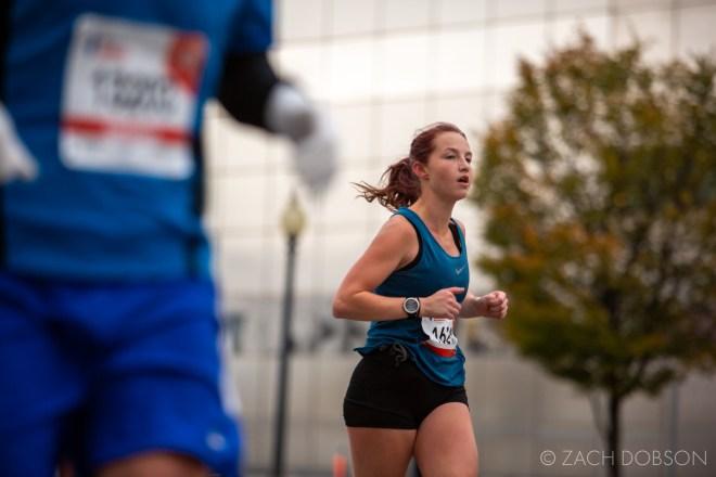 Indianapolis Monumental Marathon, 2019. Central Library