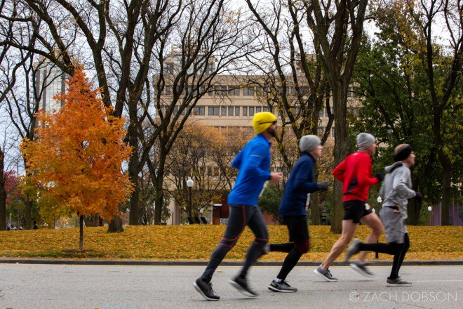 Indianapolis Monumental Marathon, 2019. Meridian St.