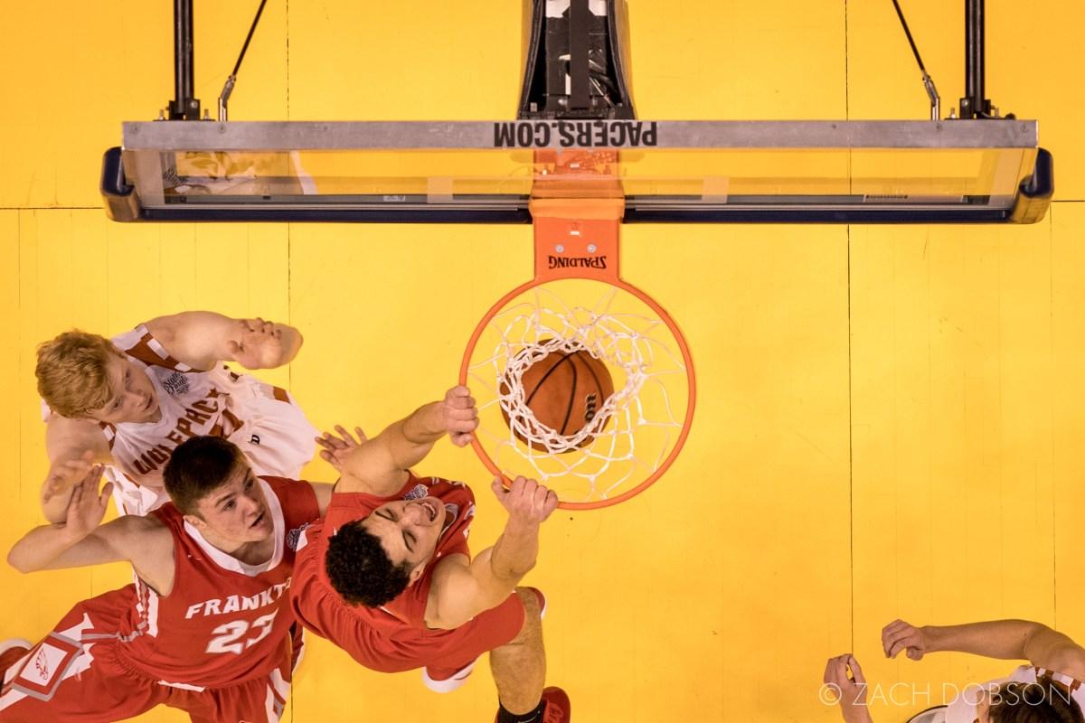 indiana high school basketball dunk