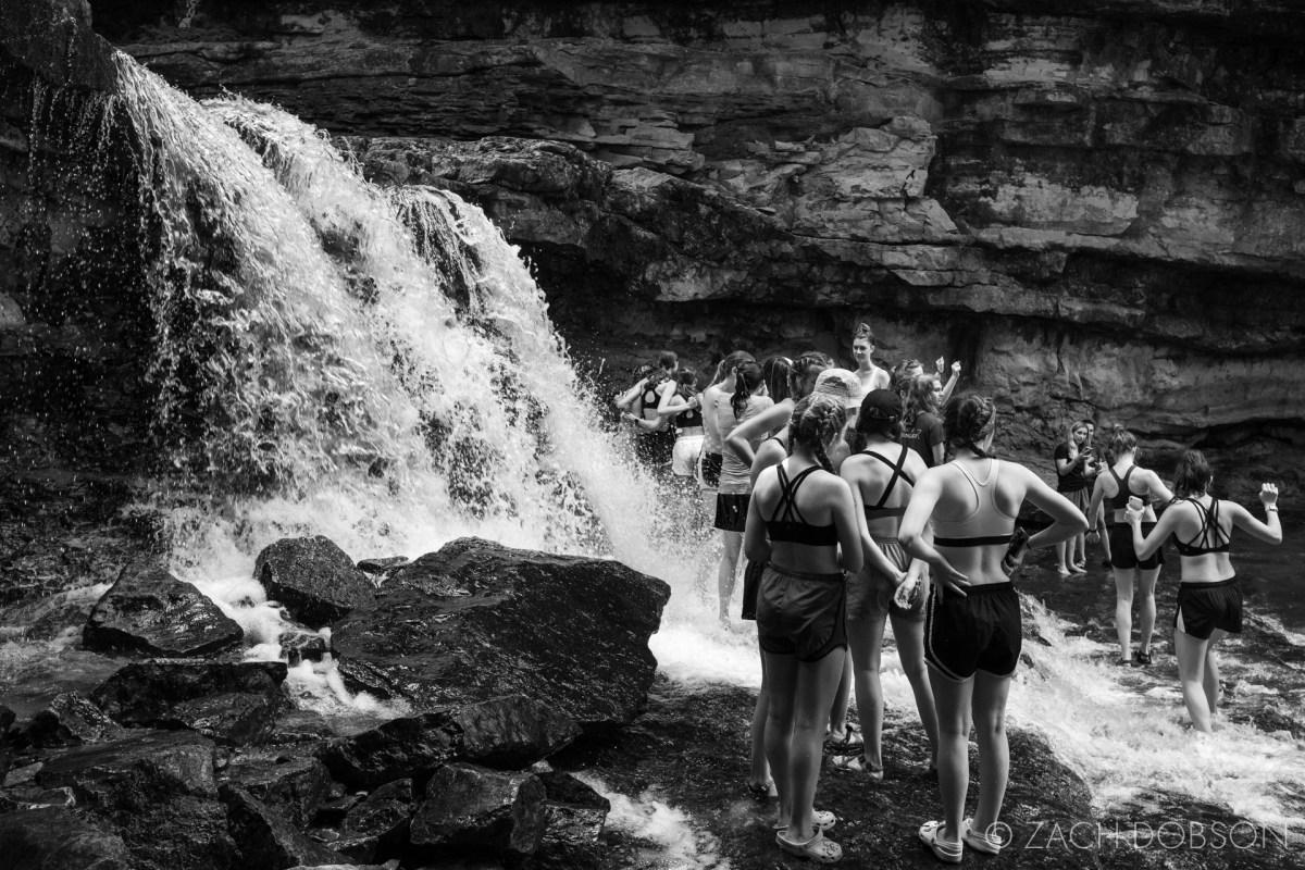 mccormicks creek state park spender indiana waterfall