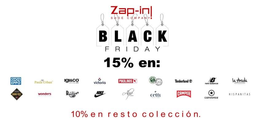 Black Friday 2017 en www.zapin.es