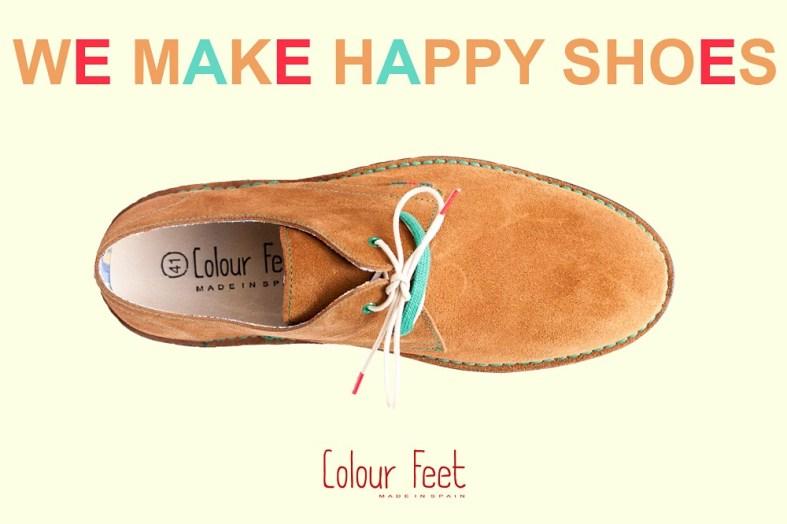 Safaris Colour Feet con doble cordón.