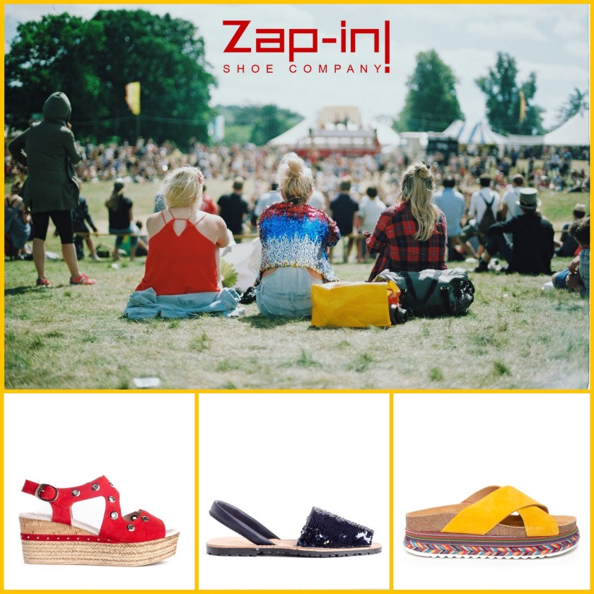 La sandalias de los conciertos