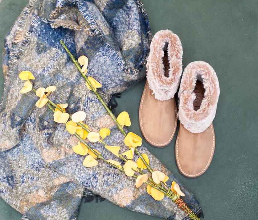 Vuelta al cole botas con forro de abrigo Colour Feet
