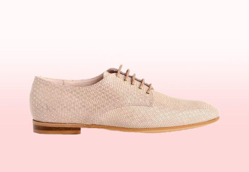 Zapatos de mujer Traveris 90900 en color rosa