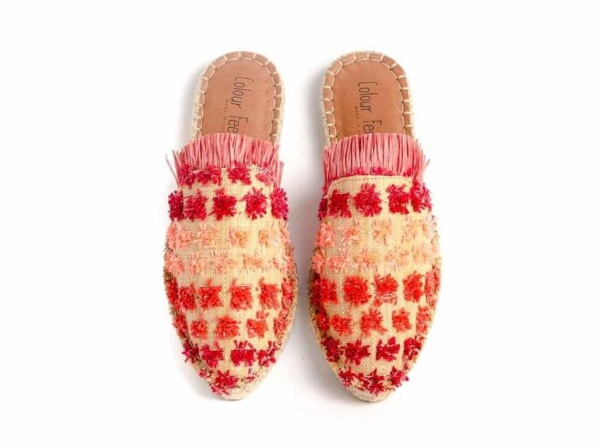 Combate el calor con Colour Feet MAHALI