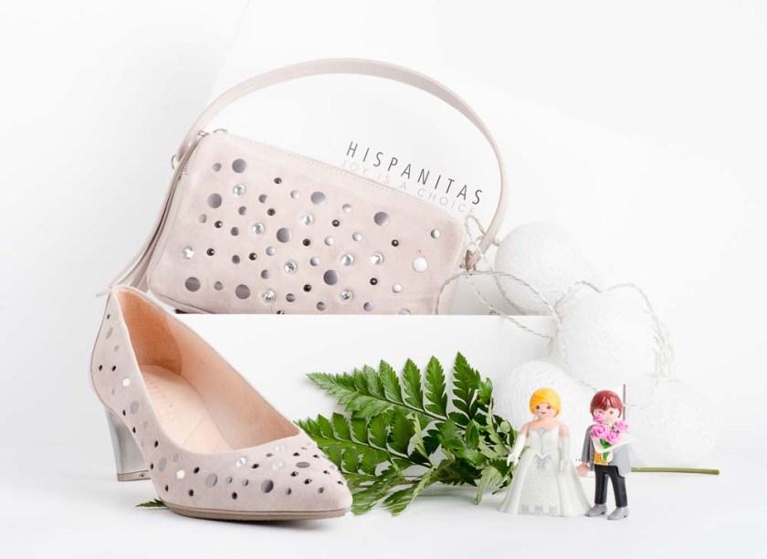 Zapato de salón para invitada de boda Hispanitas PHV86742
