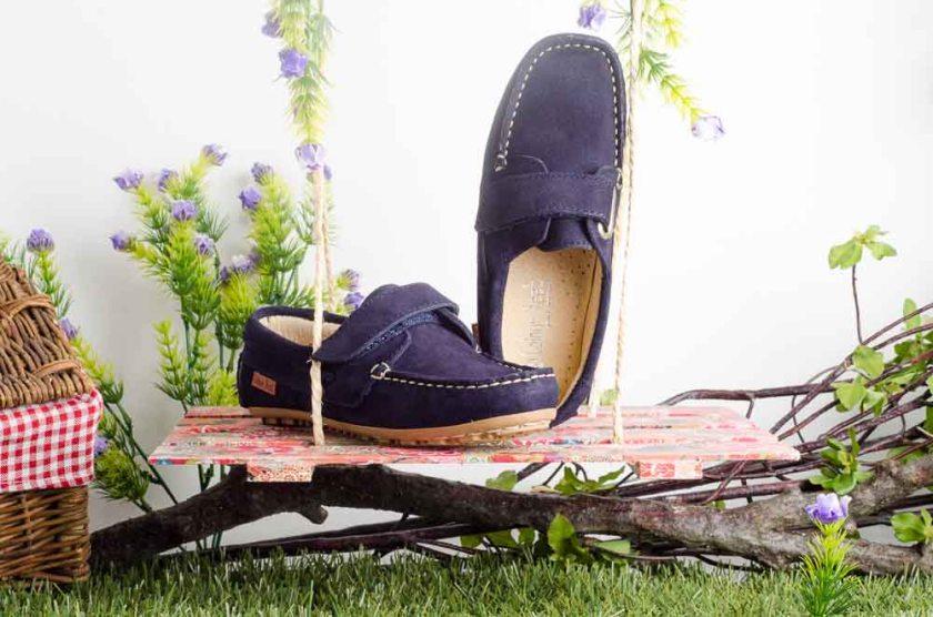 Zapato infantil para niño Colour Feet M-07 NAUTICO VELCRO