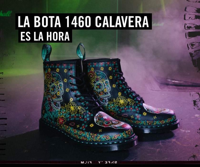 Celebra Halloween 2019 con la bota Dr.Martens 1460 calavera