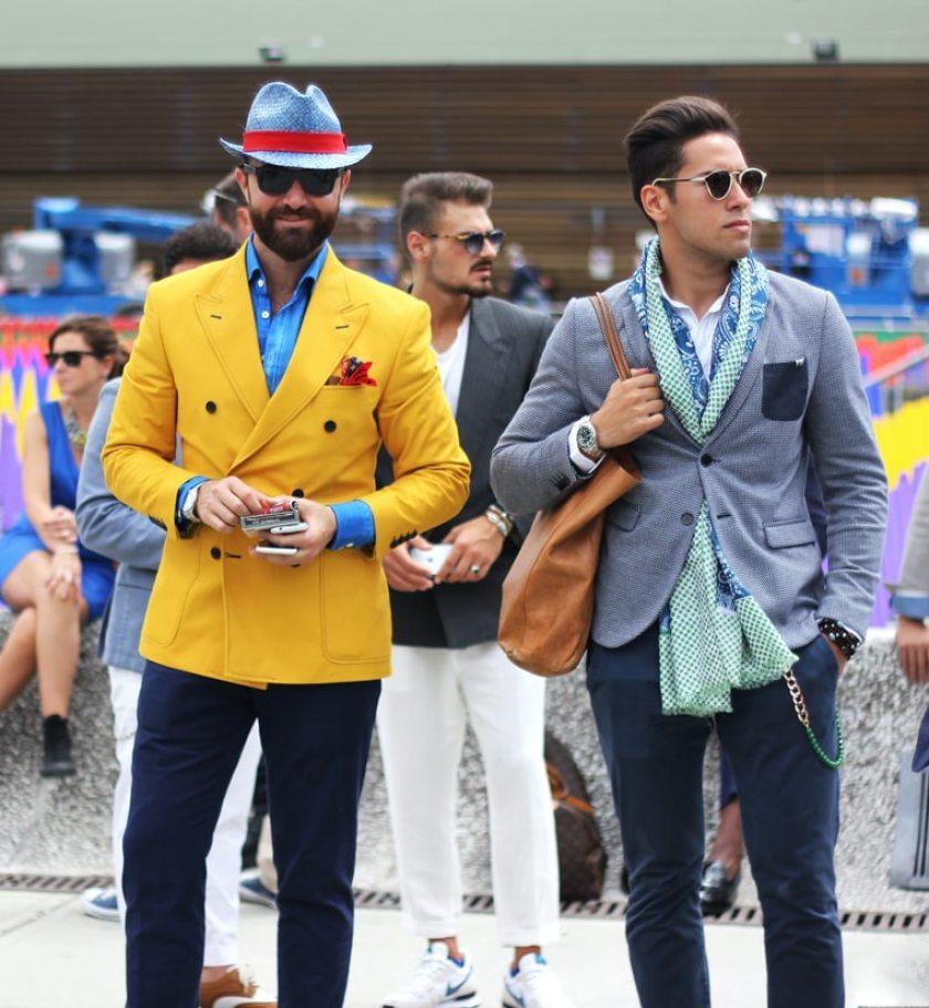 Moda masculina, verano 2020