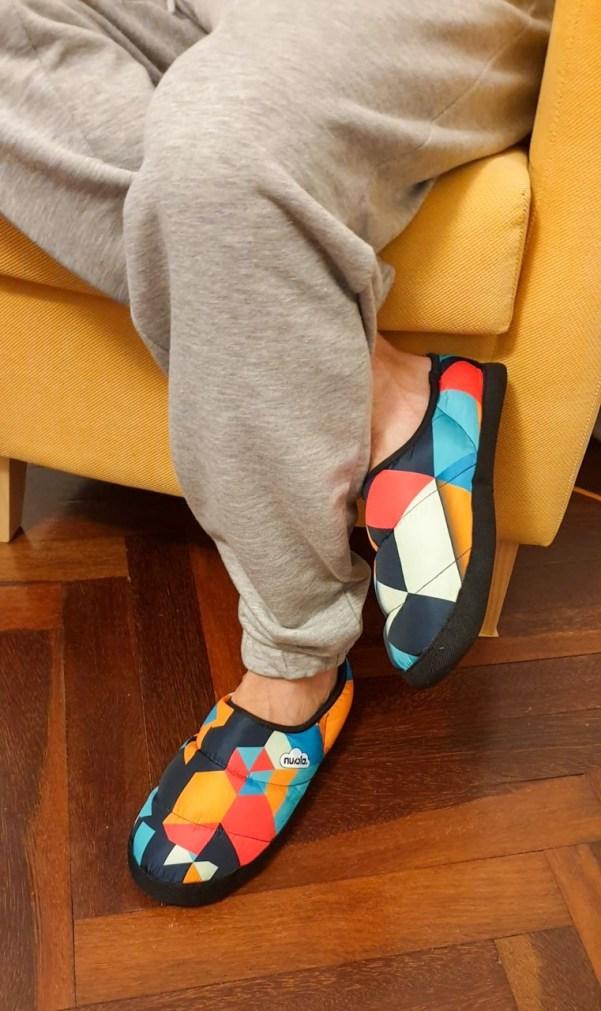 Zapatillas de casa originales.
