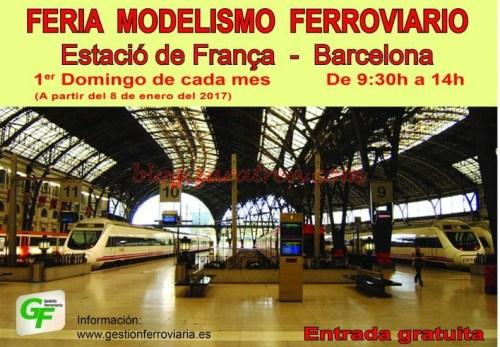 Mercadillo Barcelona - Zaratren allí estará