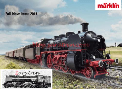 Märklín - Catálogo de novedades otoño 2017
