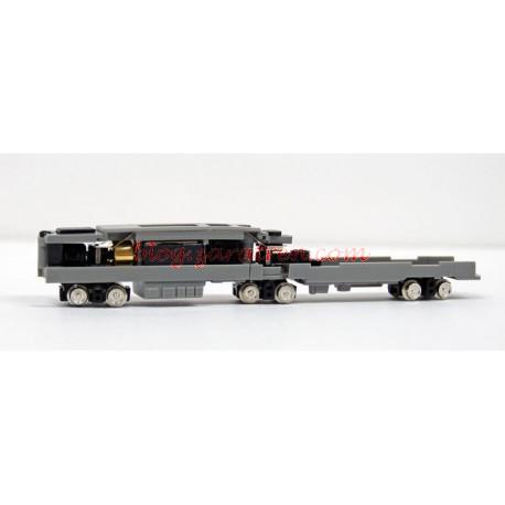 Tomytec - Chasis motorizado para tranvías articulado de escala N, Ref: TM -TR03.