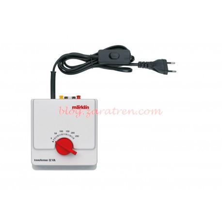 Marklin - Regulador + transformador en corriente Alterna, Válido para corriente alterna de Marklin., Ref: 66471.