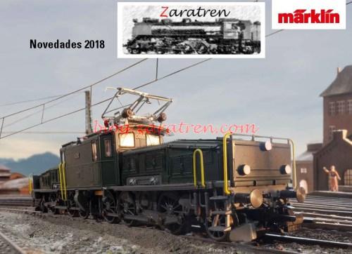 Marklin - Novedades Marklin 2018